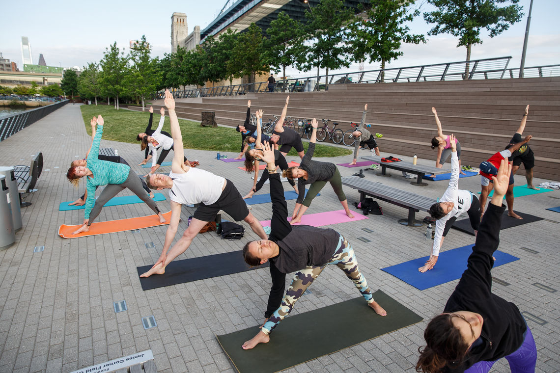 Race Street Pier Yoga Weekend Classes