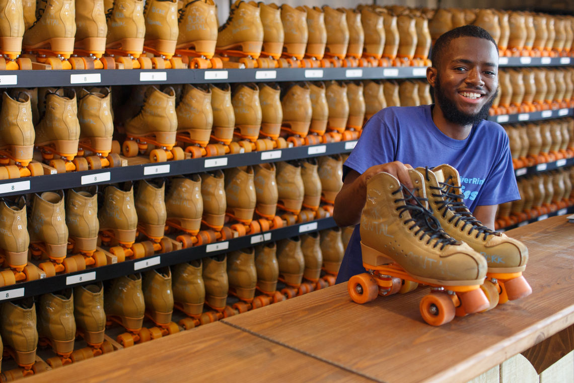 Skate Rental with a Smile