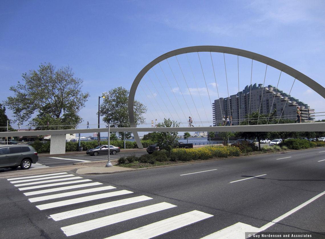 South Street Bridge Rendering