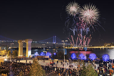 New Year's Eve at Blue Cross RiverRink Winterfest