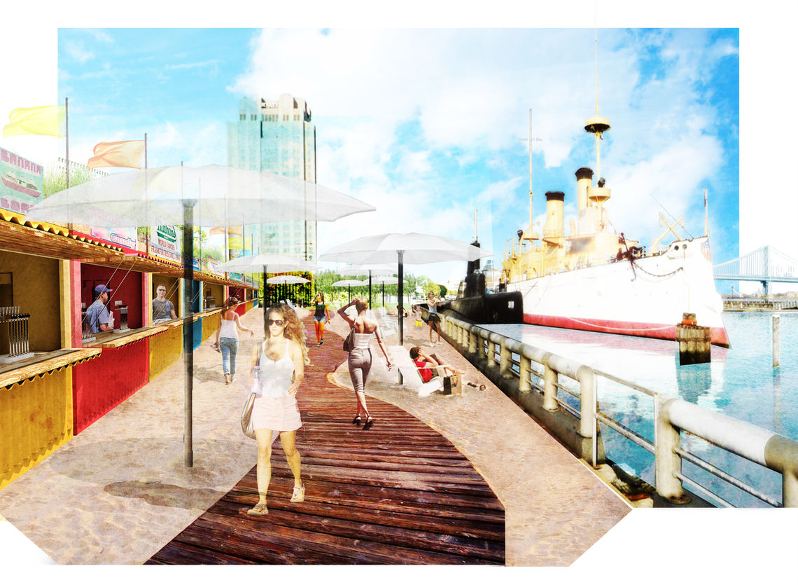 SSHP Boardwalk Rendering