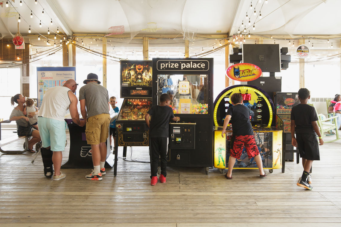 Games at Blue Cross RiverRink Summerfest