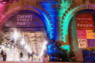 Cherry Street Pier Entrance