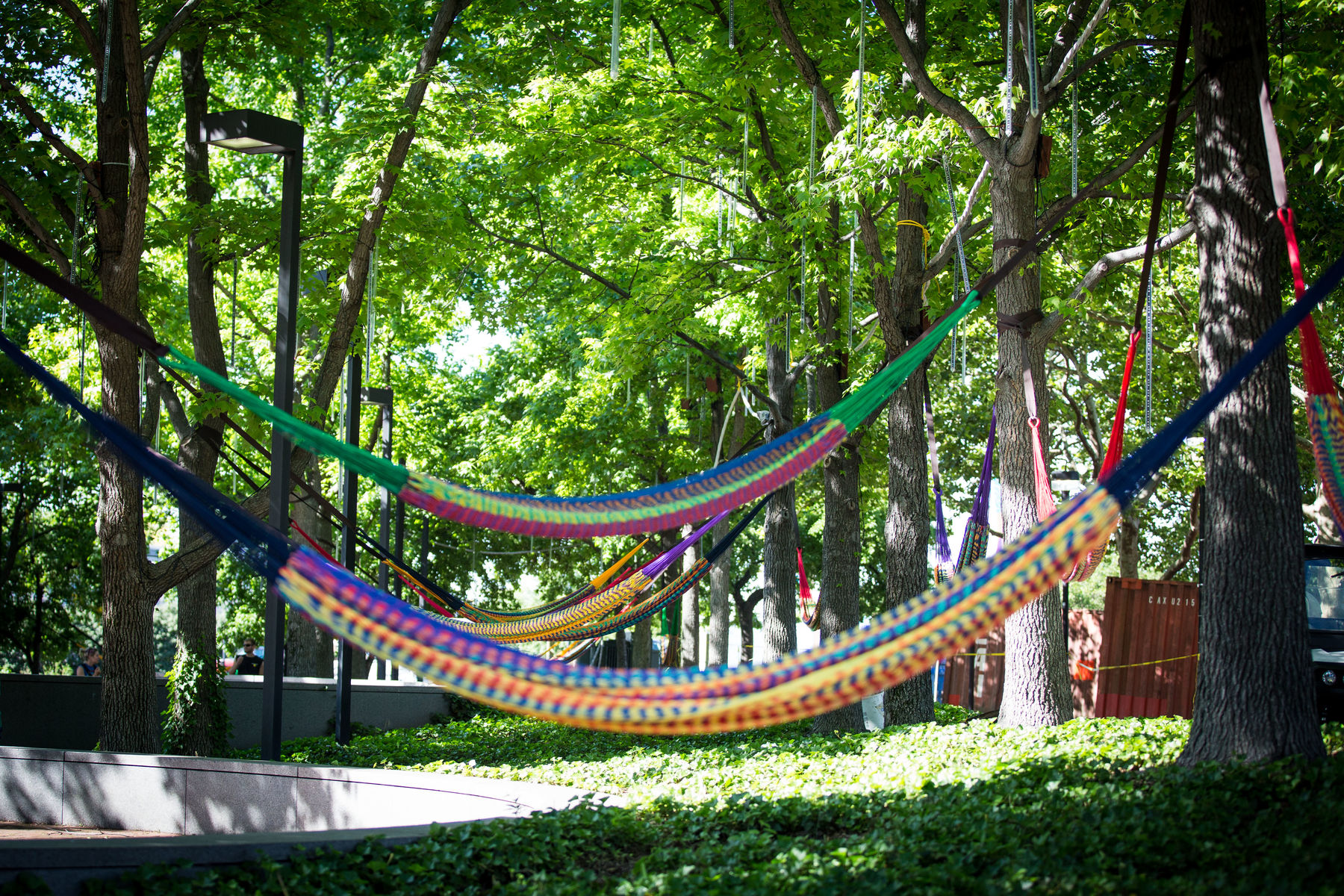 Spruce Street Harbor Park Presented by Univest/Valley Green Bank Hammocks