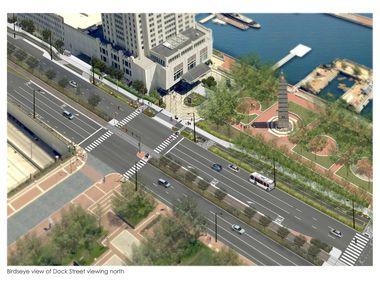 Hilton draft rendering