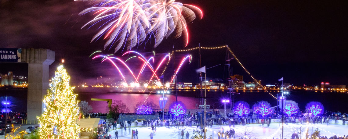 SugarHouse New Year's Eve Fireworks on the Waterfront