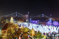 Philly's Largest Outdoor Rink and Winter Wonderland
