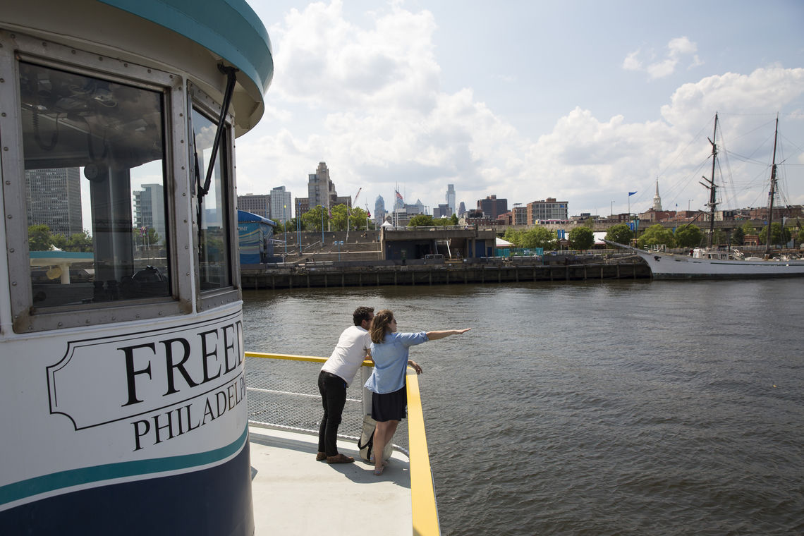 Refresh your View of Philly with a Ride on the RiverLink Ferry