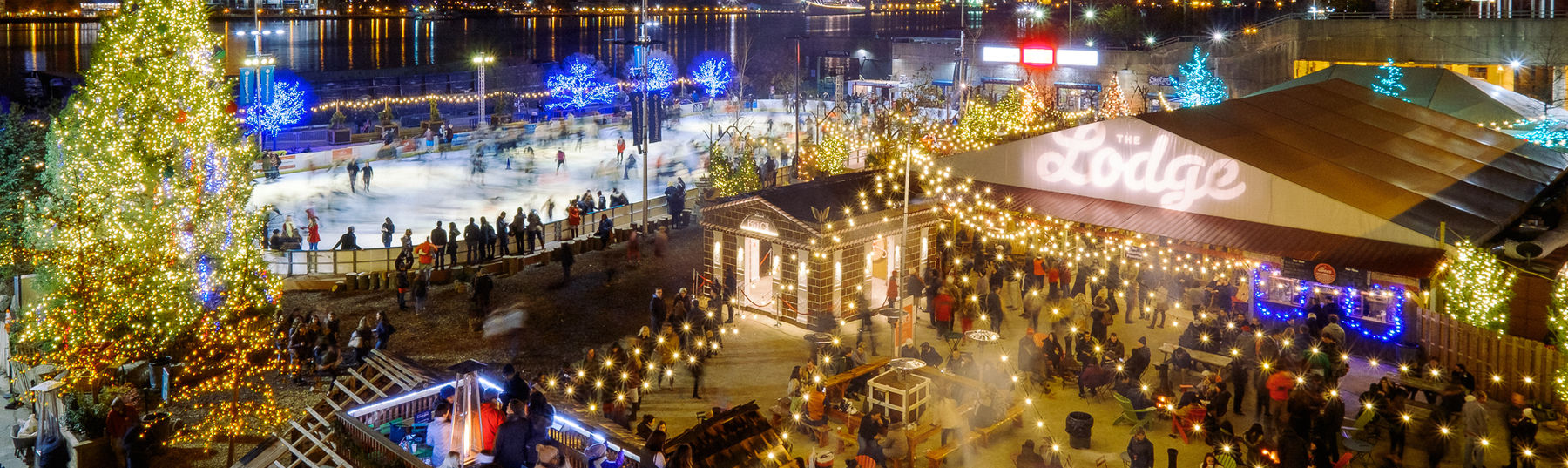 A Winter Wonderland at Blue Cross RiverRink Winterfest