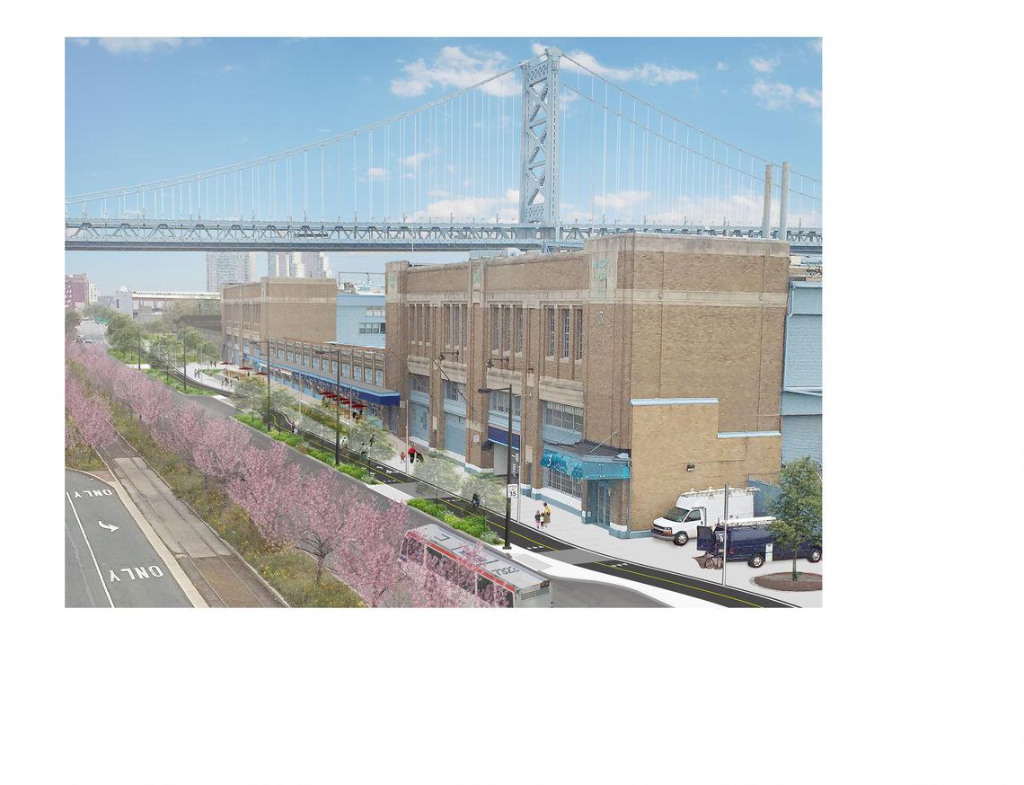 Piers 3 and 5 draft rendering