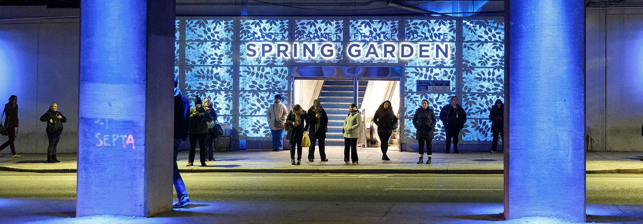 Spring Garden Connector 2165 Banner