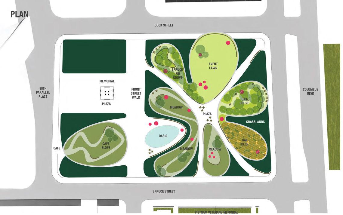 Foglietta Plaza looping site plan