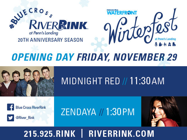 Opening Day Blue Cross RiverRink