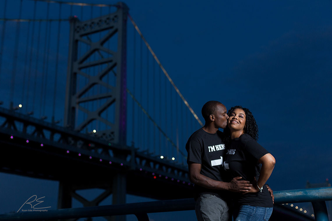 race st pier engagement session