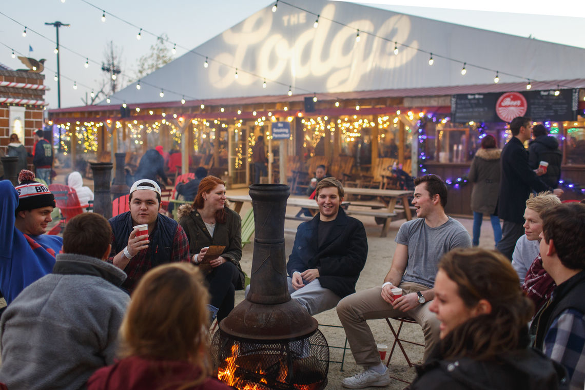 Fire Pit Hang Out at Winterfest