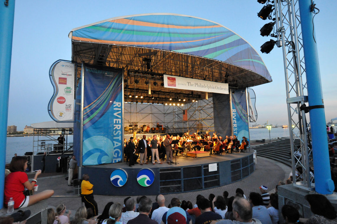 Philadelphia Orchestra Concert on the Great Plaza at Penn's Landing