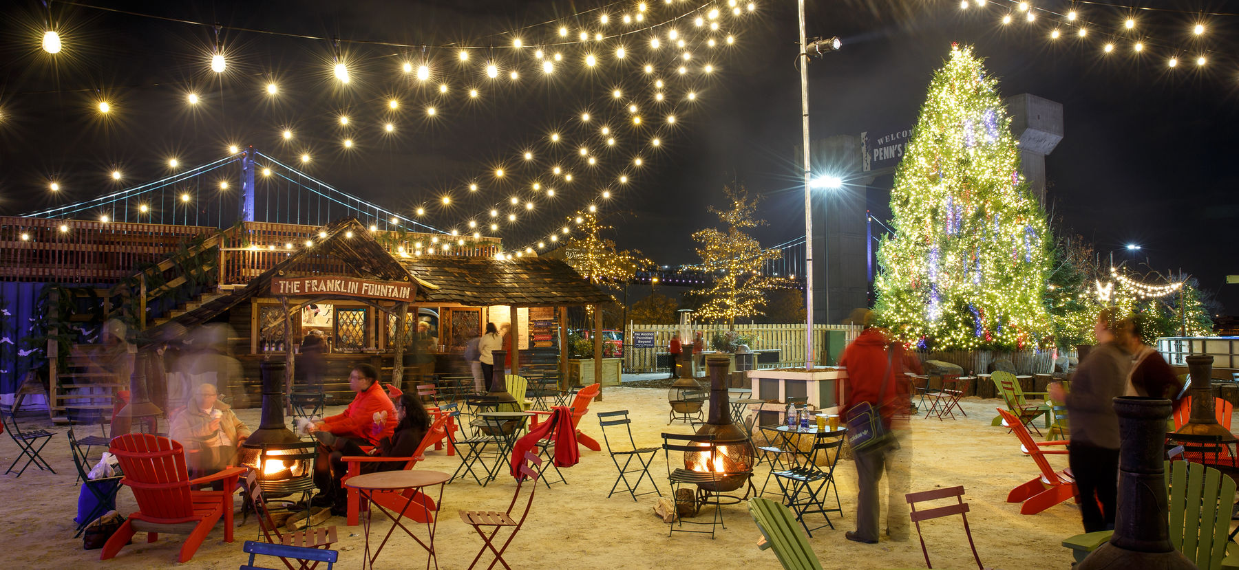 Holiday Tree Lighting Presented by PECO