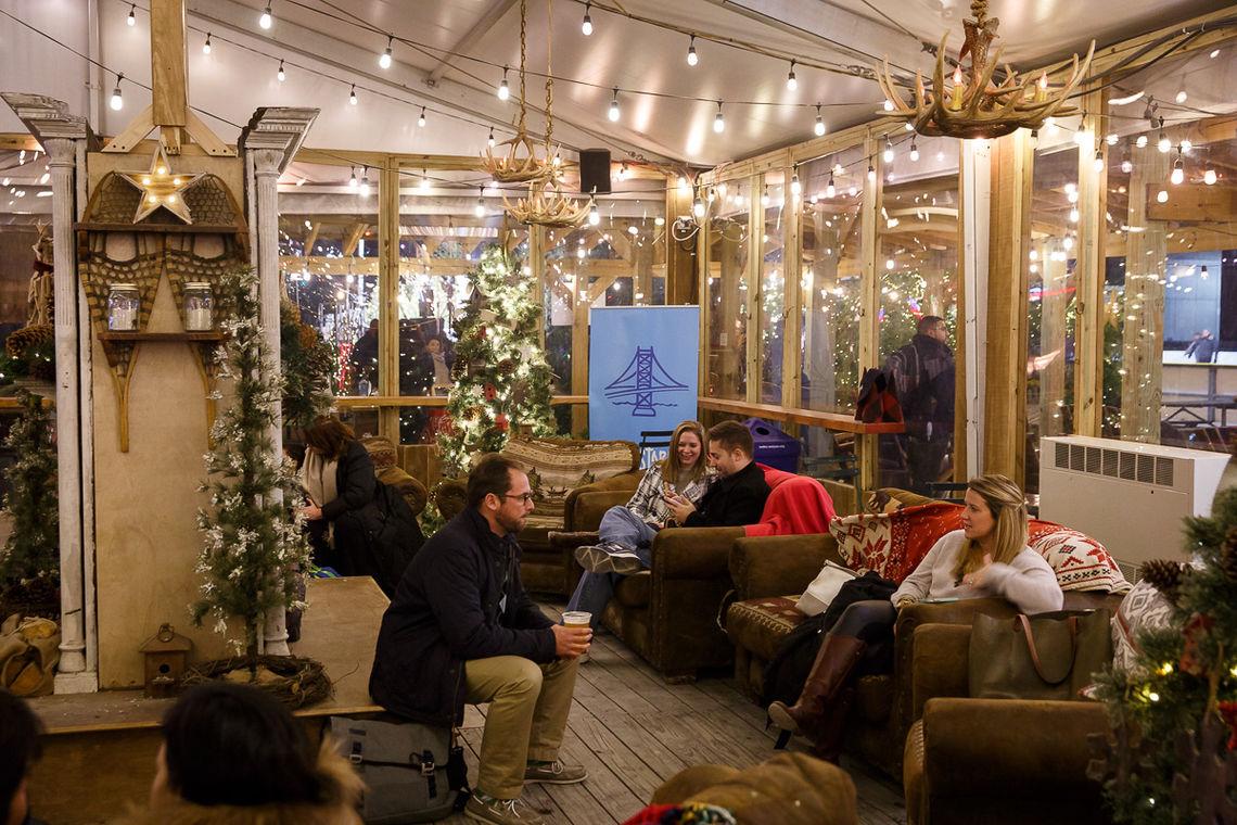 Cozy Lounge Area Inside The Lodge