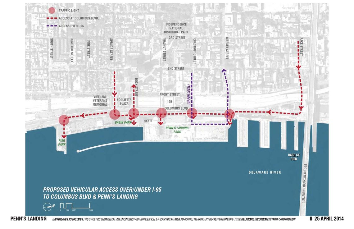 Vehicular Access Map