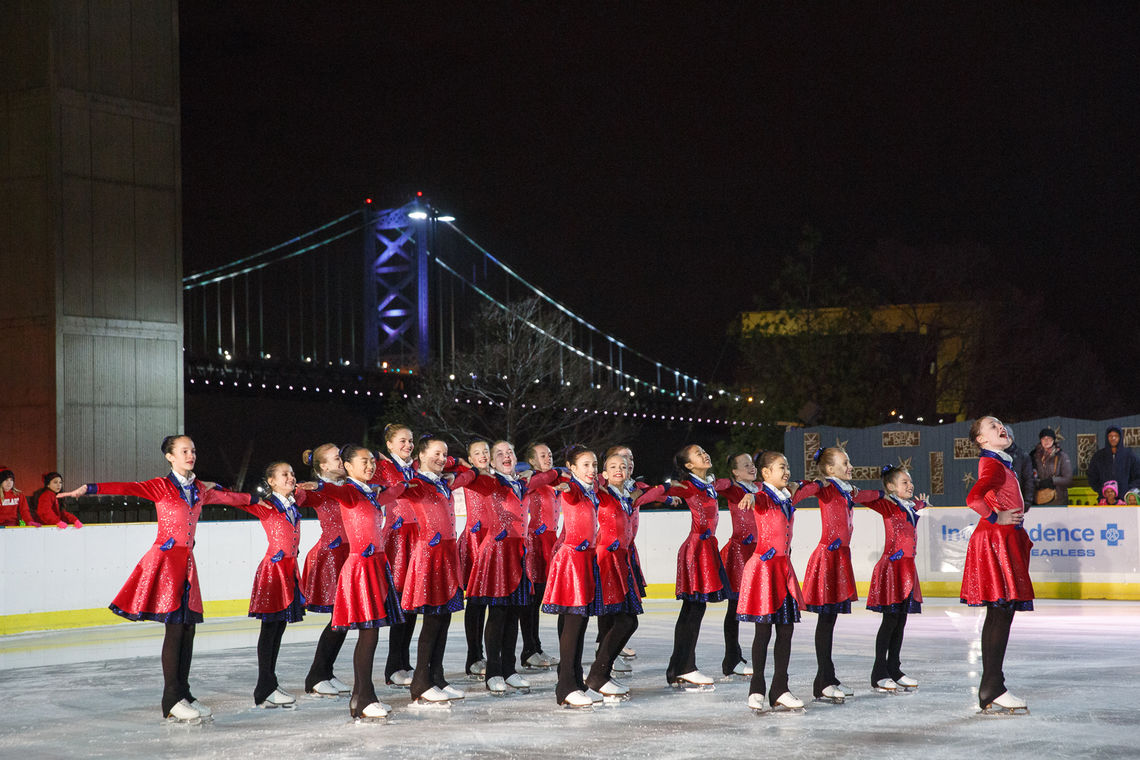 Philadelphia Symmetry Performing a Routine from Mary Poppins