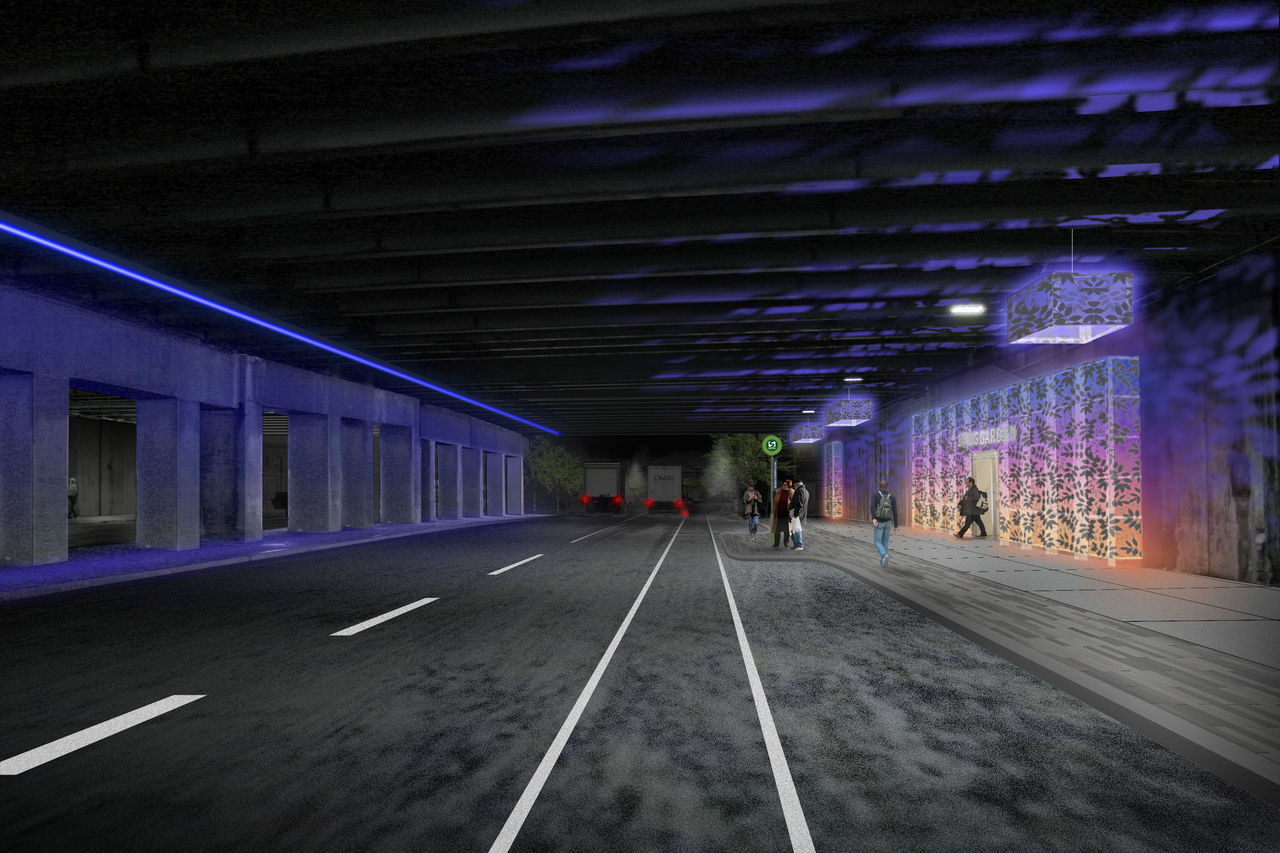Spring Garden Connector Renderings