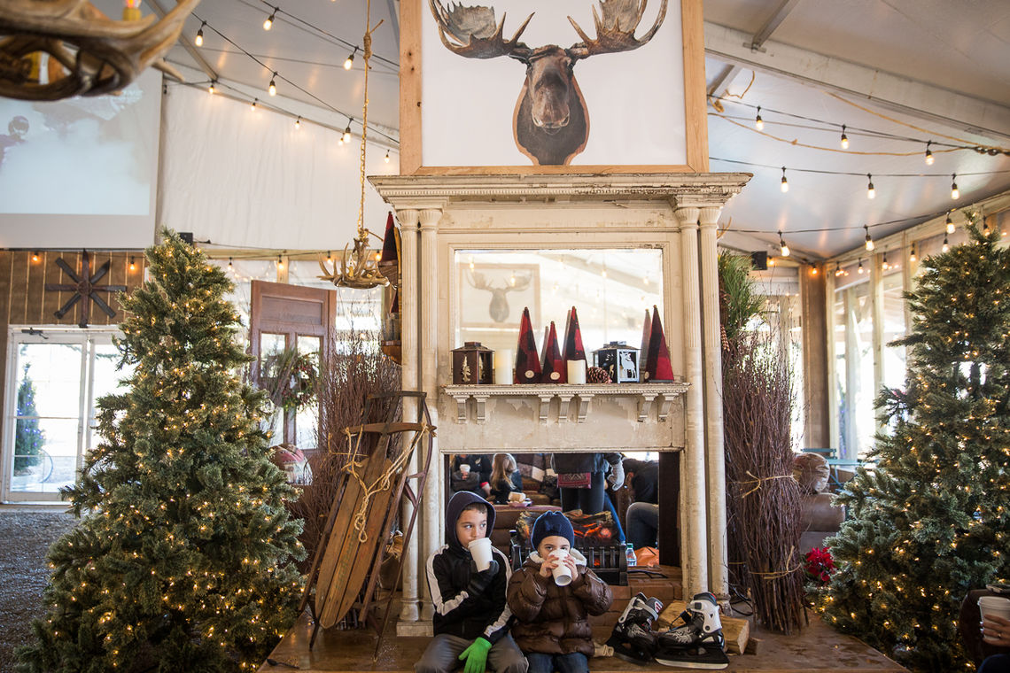 The Lodge at Blue Cross RiverRink Winterfest