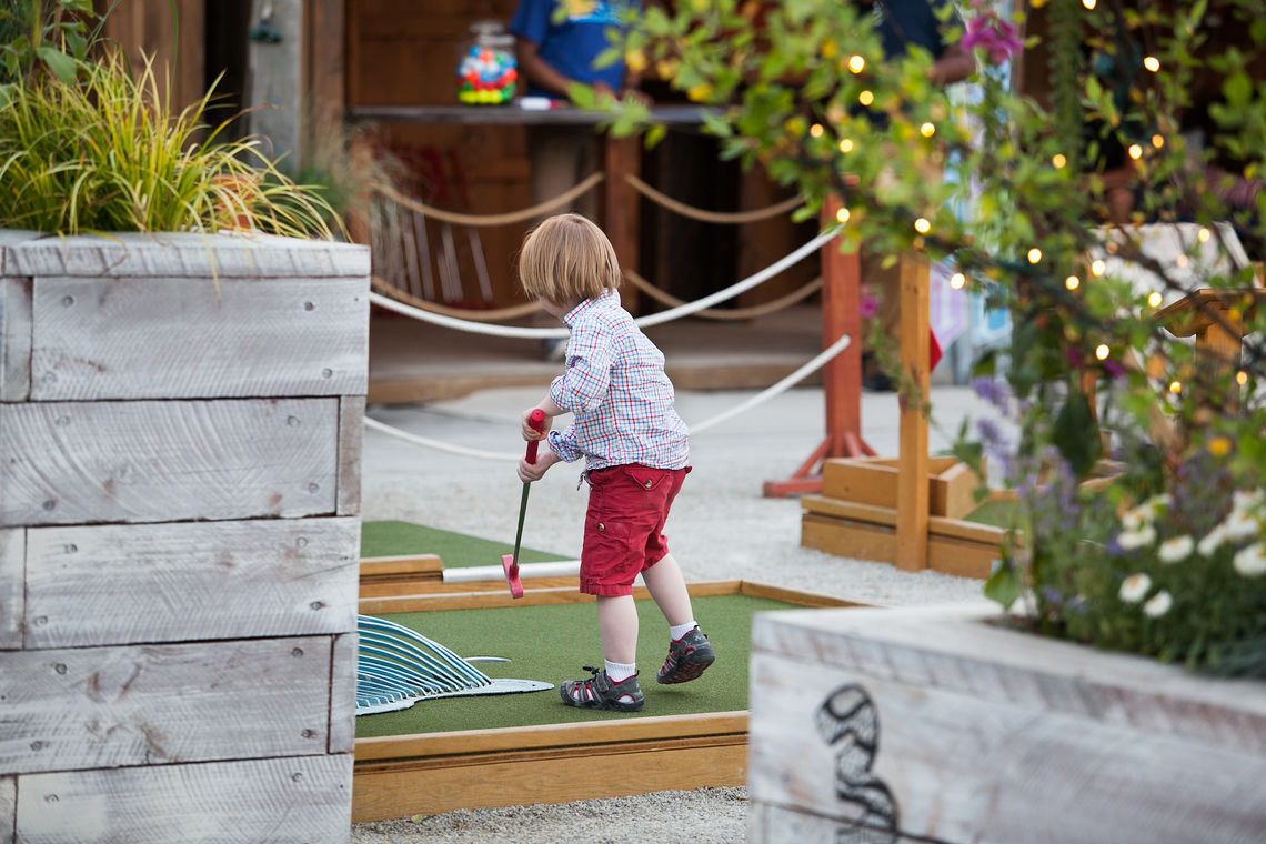 Play Putt-Putt at Summerfest