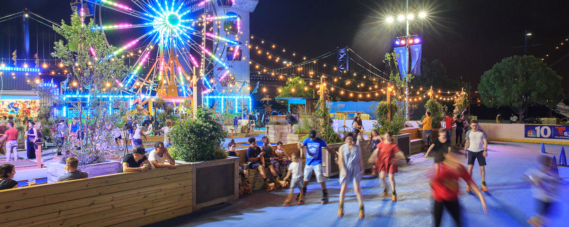Blue Cross RiverRink Summerfest