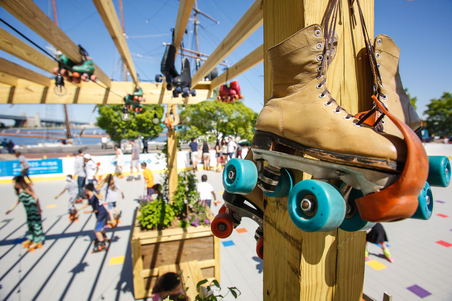 Blue Cross RiverRink Summerfest Skates
