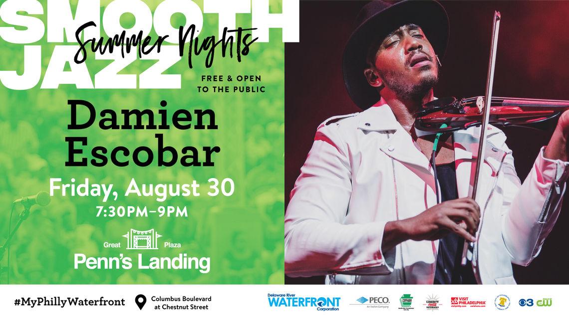 Smooth Jazz Summer Nights: Damien Escobar