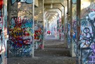 graffiti pier photo by joel wolfram for whyy