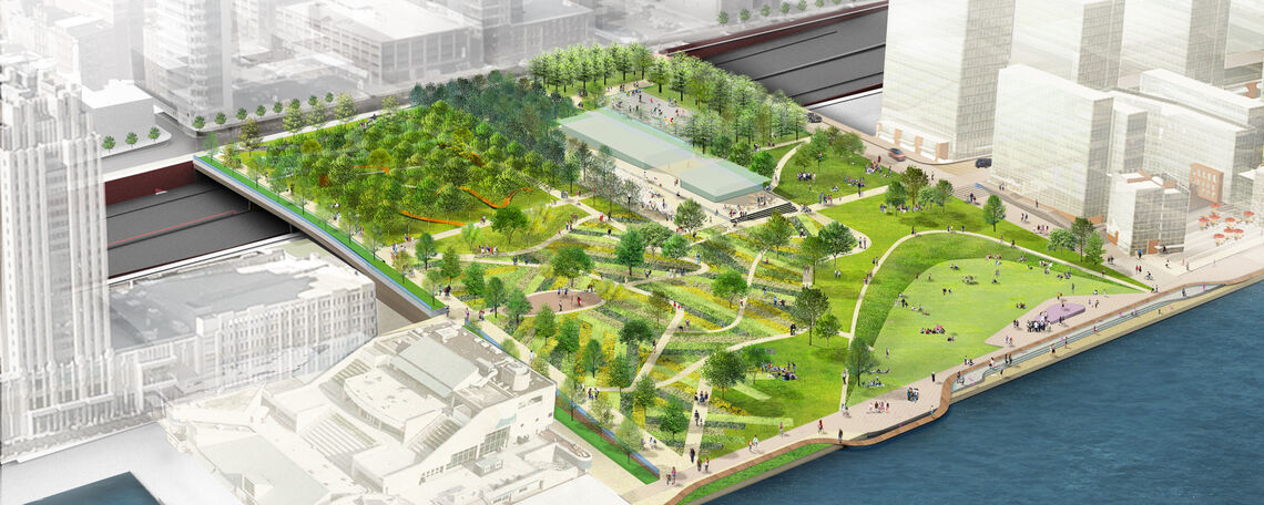 New Business Opportunities for the Penn's Landing Cap and Civic Space