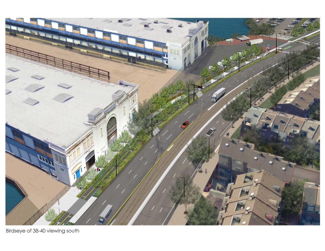 Pier 38 and 40 draft rendering
