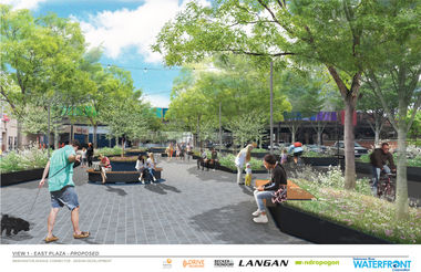 East Plaza Proposed