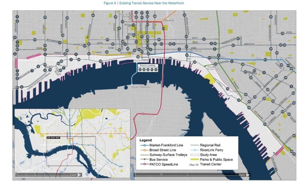 waterfront transit study