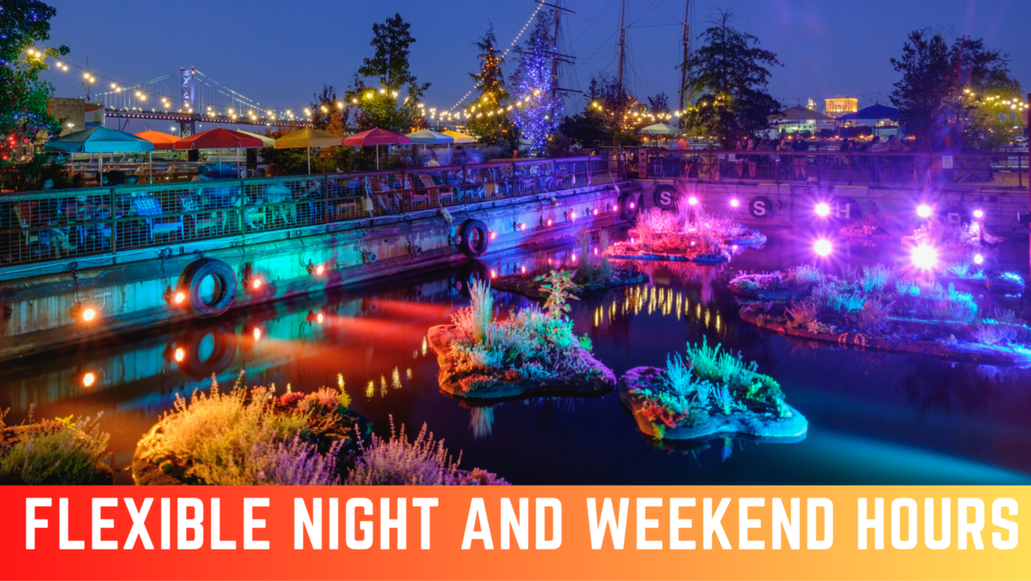 flexible night and weekend hours 2