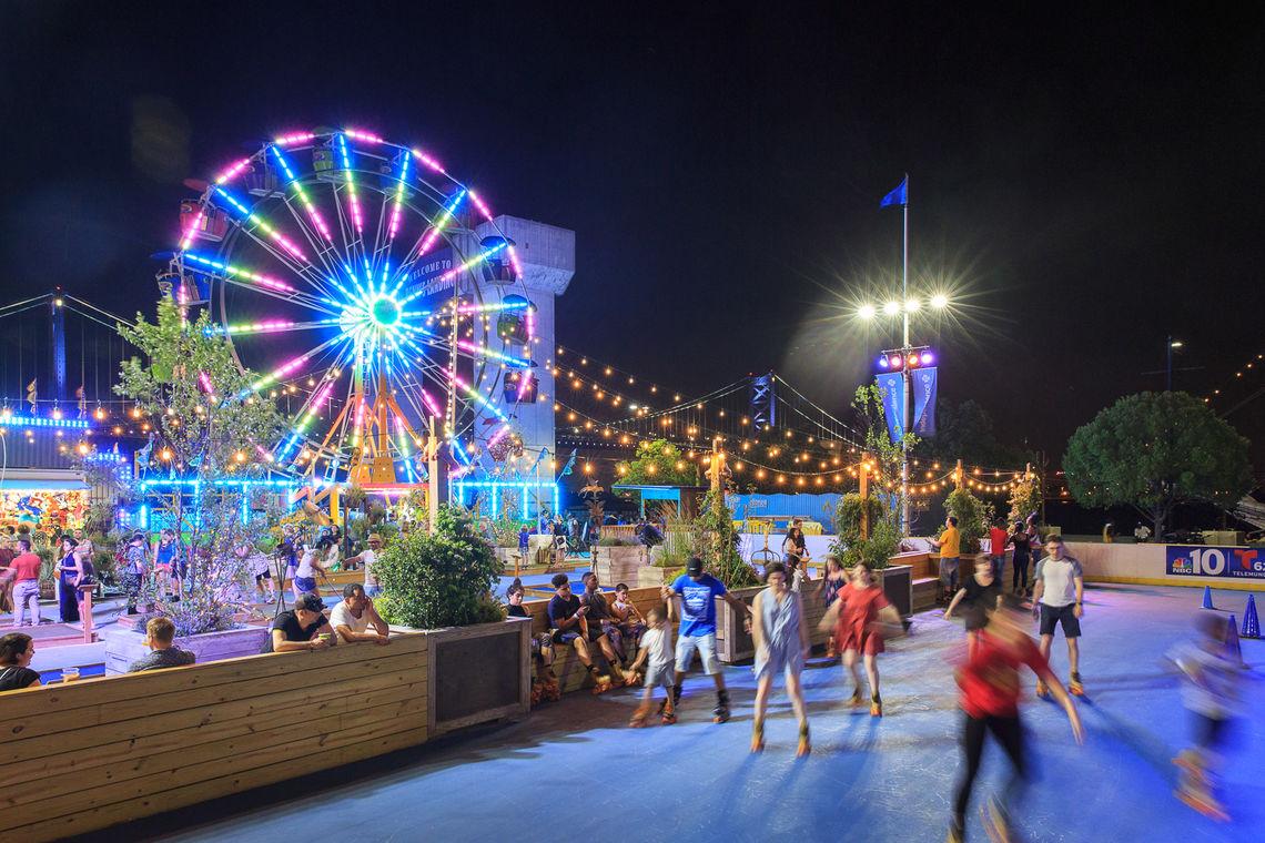 Image result for Blue Cross RiverRink Summerfest