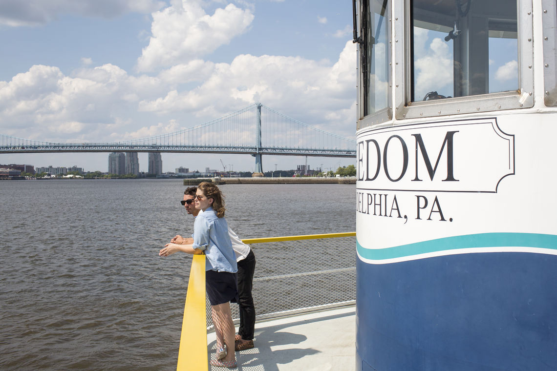 Ride the RiverLink Ferry