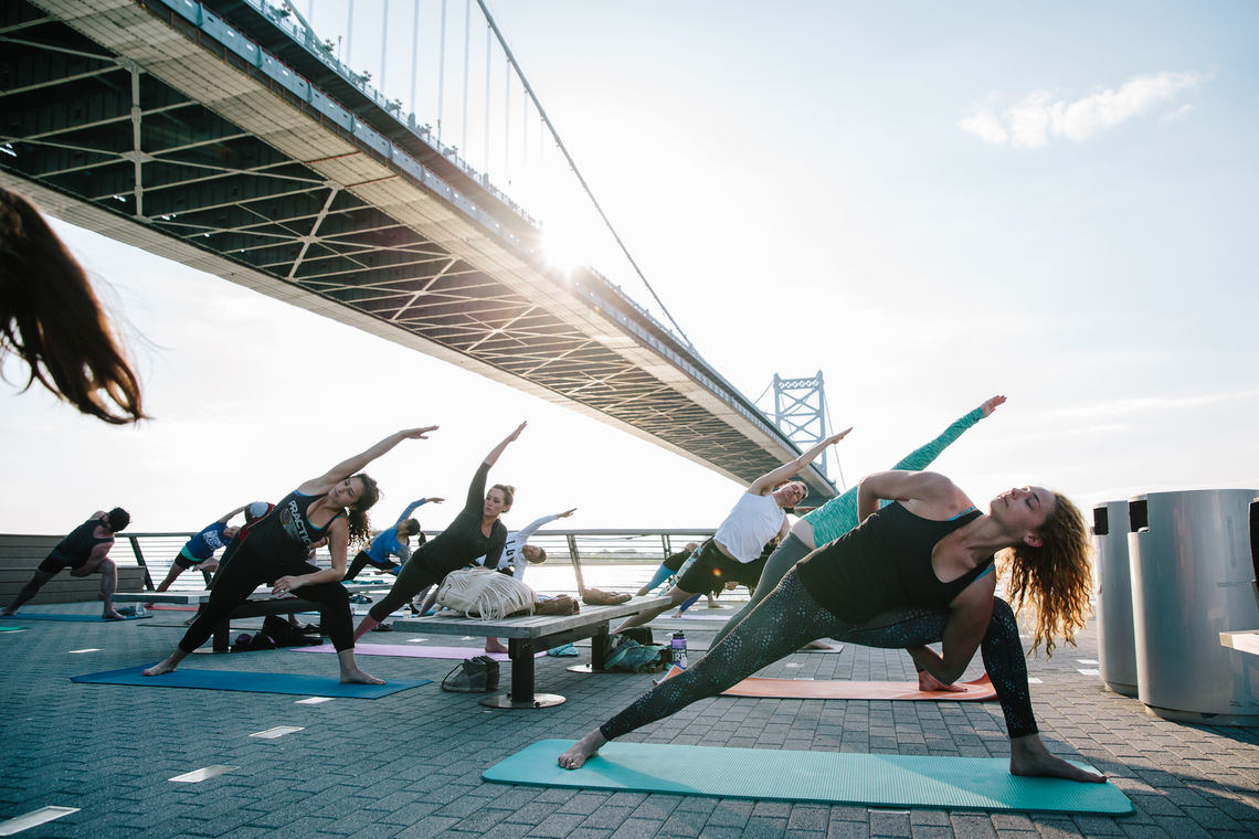 Race Street Pier Yoga Presented by Independence Blue Cross