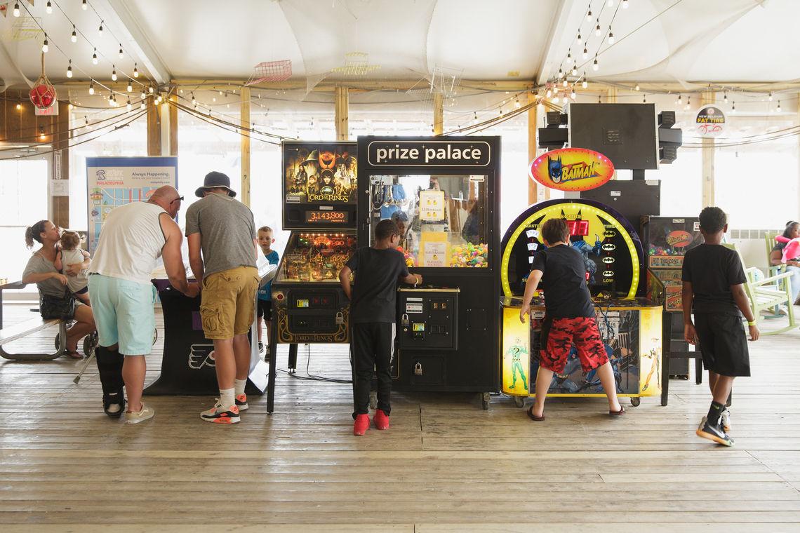 Games at Blue Cross RiverRink Summerfest