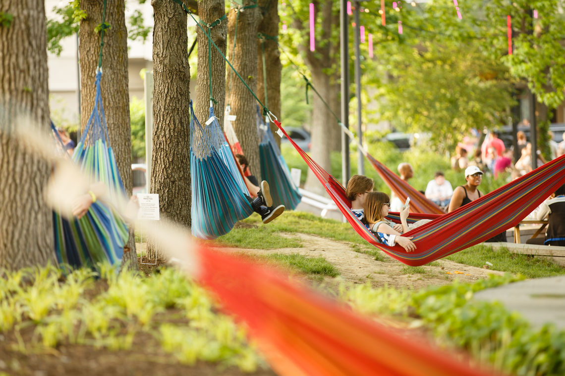 SSHP Hammock Park with Over 50 Hammocks