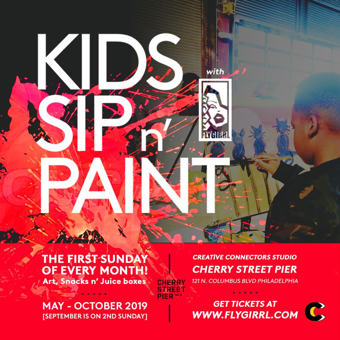 Kid's Sip N' Paint