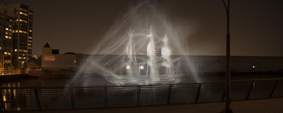 Waterfront Arts Debut Installation