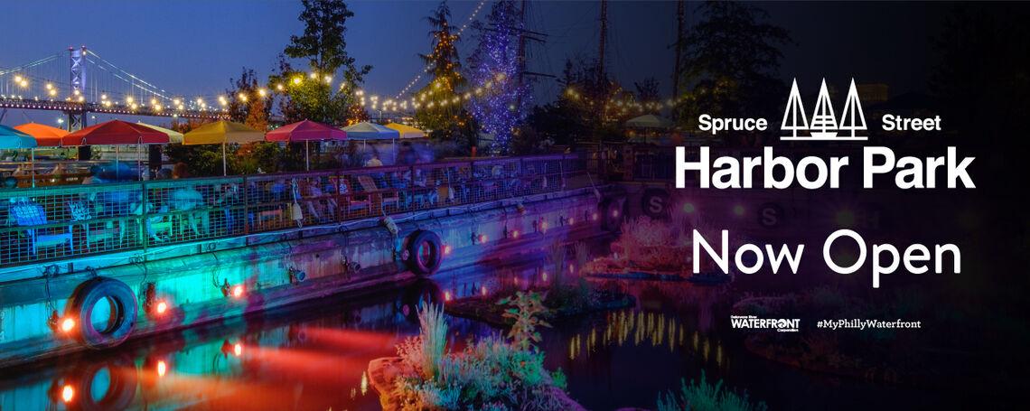 Spruce Street Harbor Park Is Now Open