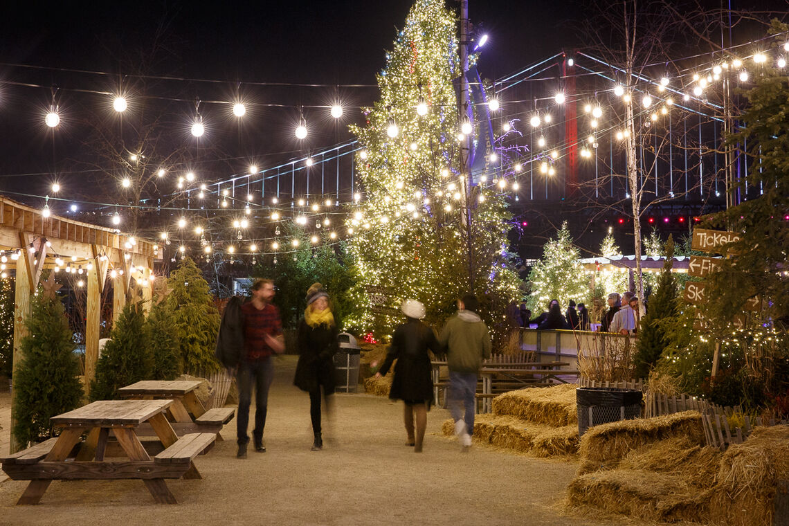 Safely Stroll Philly's Favorite Outdoor Winter Wonderland