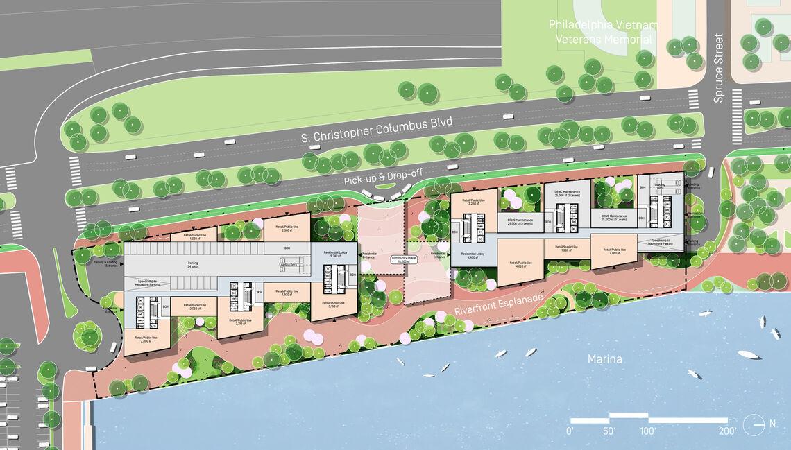 durst penns landing marina basin site plan
