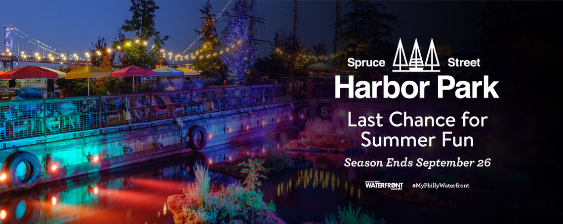 Hurry! Last Chance to Bask in the Beauty of Spruce Street Harbor Park