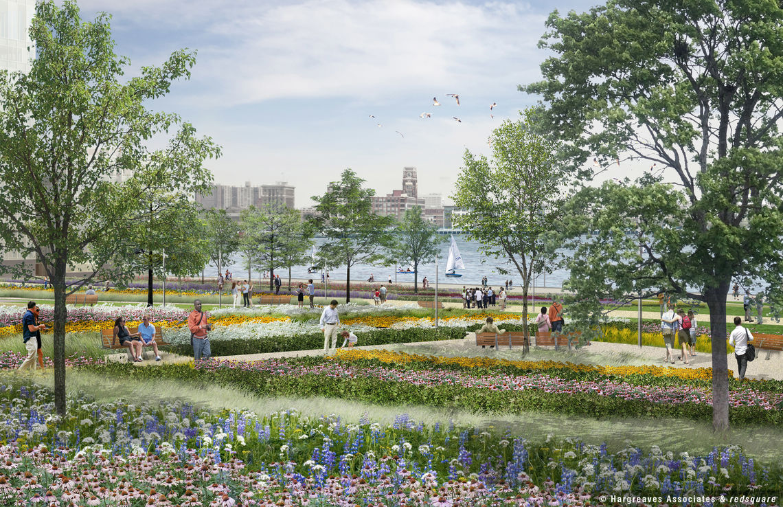 Penn's Landing Cap and Civic Space Gardens