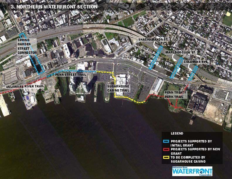DRWC William Penn Foundation Funding Map North