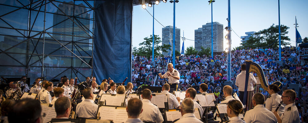 """NOW STREAMING! VIRTUAL PERFORMANCE: THE UNITED STATES ARMY BAND """"PERSHING'S OWN"""""""